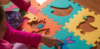 dziecięce puzzle z pianki